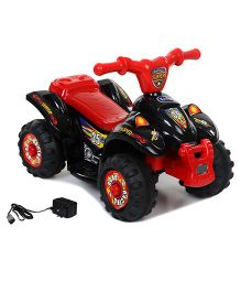 Babyhug Quadra Star ATV Battery Operated Ride On - Red