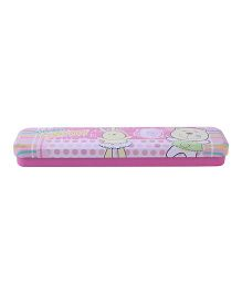 Pencil Box Hopping For You Print - Pink