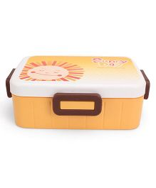 Lunch Box Lucky Day Print - Yellow