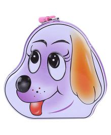 Puppy Shaped Coin Box - Purple
