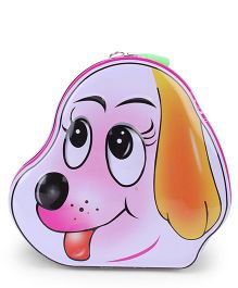 Puppy Shaped Coin Box - Pink