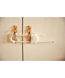 Blossoms Flexible Double Door Latch