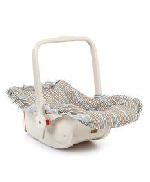 Stripe Carry Cot Cum Rocker Multicolour - B001A