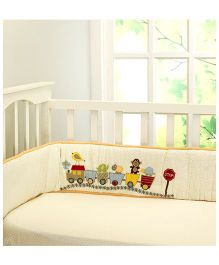 Little West Street Choo Choo Friends Bumper - Multicolor