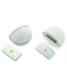 B-Safe Magnetic Door Stopper - White