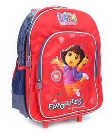 Dora The Explorer The Harbor Trolley Backpack - 18 inches