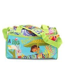 Dora Rain Forest Weekender Shoulder Bag - Green And Blue