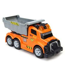 Dickie Dump Truck - Grey And Orange