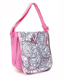 Simba Art And Fun Color Me Mine Messenger Bag - Pink