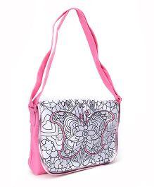 Simba Art And Fun Color Me Mine Sling Bag - Pink