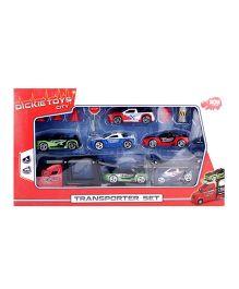 Dickie Transporter Set Multicolor - Pack Of 14