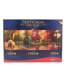 Simba Triptychon Indian Summers Puzzle - 200 Pieces