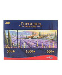 Simba Triptychon Lavender Fields Puzzle - 200 Pieces