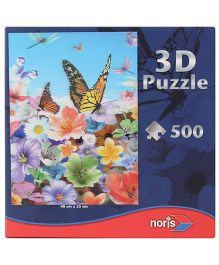 Simba 3D Butterfly Puzzle - 500 Pieces