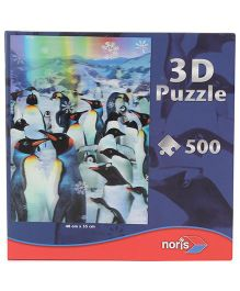 Simba 3D Penguins Puzzle - 500 Pieces