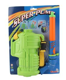 Simba Super Pump Water Blaster With Tank - Green