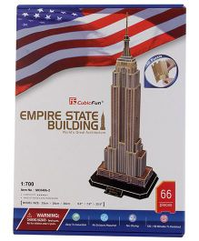 CubicFun Empire State Building USA Multicolor - 66 Pieces