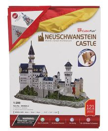 CubicFun Neuschwanstein Castle 3D Puzzle - 121 Pieces