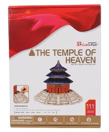 CubicFun The Temple of Heaven 3D Puzzle - 111 Pieces