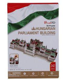 Frank Hungarian Parliament Building 3D Puzzle - 242 Pieces