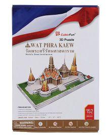 CubicFun Wat Phra Kaew 3D Puzzle - 152 Pieces