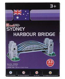 CubicFun Sydney Harbour Bridge 3D Puzzle - 33 Pieces