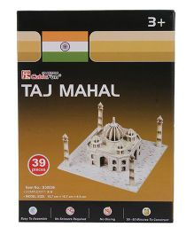 CubicFun Taj Mahal 3D Puzzle - 39 Pieces