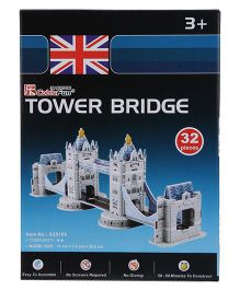 CubicFun Tower Bridge 3D Puzzle - 32 Pieces