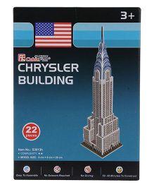 CubicFun Chrysler Building 3D Puzzle - 22 Pieces