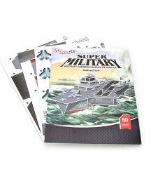 Cubicfun Aircraft Charles De Gaulle Puzzle Set - 60 Pieces