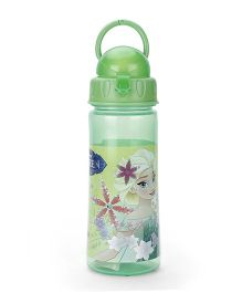 Disney Frozen Elsa Print Water Bottle Green - 500 ml