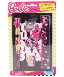 Barbie Stationery Set -  7 Pieces