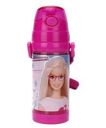 Barbie Sparkle Water Bottle Pink - 500 ml