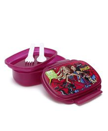 Barbie School Lunch Box - Claret