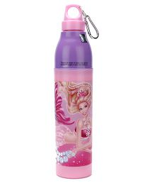 Barbie Pearl Princess Water Bottle Pink - 900 ml