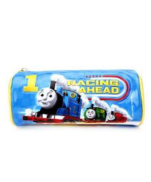 Thomas And Friends Round Pencil Pouch - Blue
