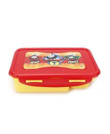 Thomas And Friends Tic Tac Lunch Box - Yellow And Red