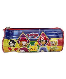 Pokemon Round Pouch - Blue