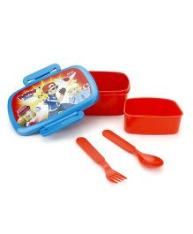Pokemon Lunch Box - Red And Blue
