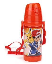 Pokemon Water Bottle - Red