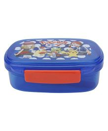 Pokemon Blue Lunch Box - Blue And Red