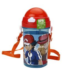Pokemon Water Bottle Red - 500 ml