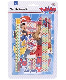 Pokemon Stationery Set - 7 Pieces