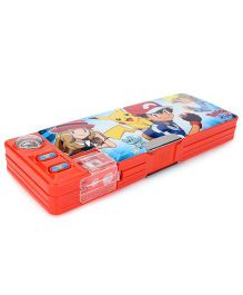 Pokemon Pencil Box - Red
