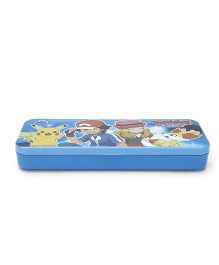 Pokemon Pencil Box - Blue