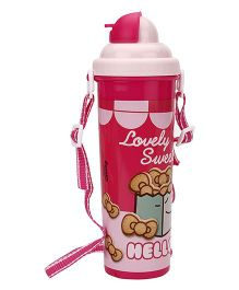 Hello Kitty Water Bottle Pink - 700 ml