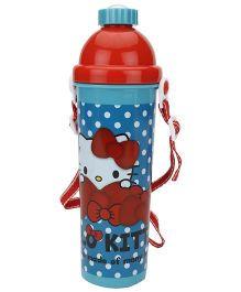 Hello Kitty Push Button Water Bottle - 700ml