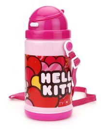 Hello Kitty Insulated Water Bottle - Pink