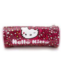 Hello Kitty Pencil Pouch - Dark Pink