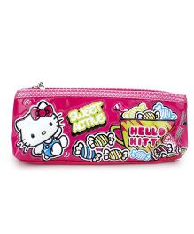 Hello Kitty Double Zip Pencil Pouch - Pink